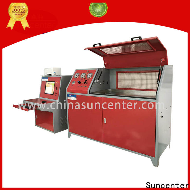 Suncenter automatic compression testing machine solutions for flat pressure strength test