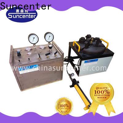 Suncenter computer hydrostatic pressure test