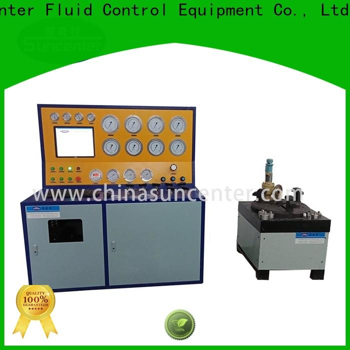 Suncenter high-energy valve test bench at discount for factory
