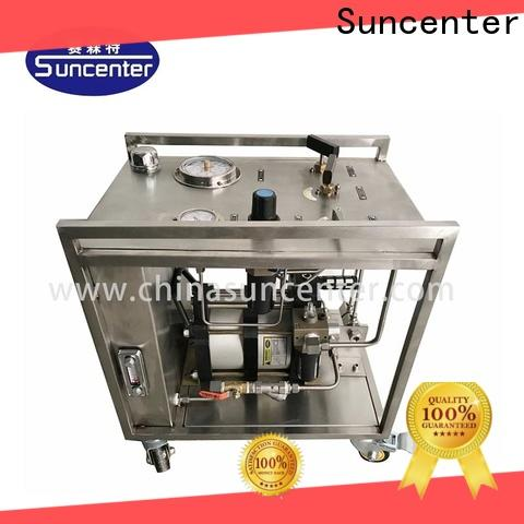 Suncenter injection haskel pump china for medical