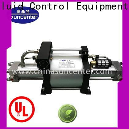 Suncenter max pressure booster pump bulk production for safety valve calibration