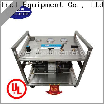 Suncenter bench pressure booster pump type for pressurization