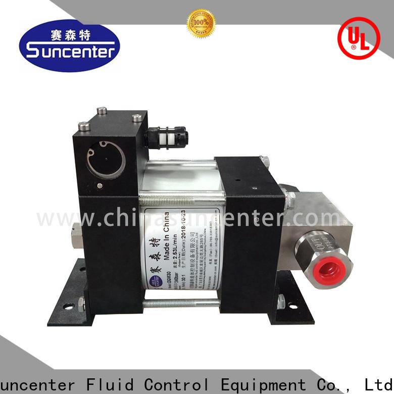 Suncenter air air driven hydraulic pump overseas market for machinery