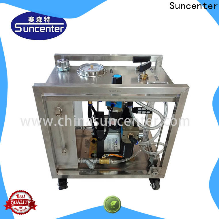 Suncenter high-quality hydro test pump producer for metallurgy