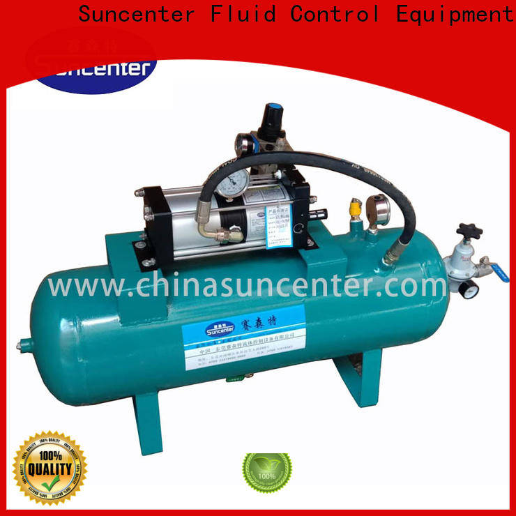 Suncenter booster air pressure booster type for safety valve calibration