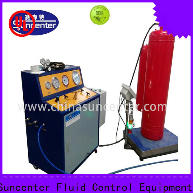 Suncenter machine fire extinguisher refill station from manufacturer for fire extinguisher