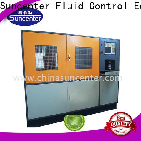 Suncenter control pressure test pump package for flat pressure strength test