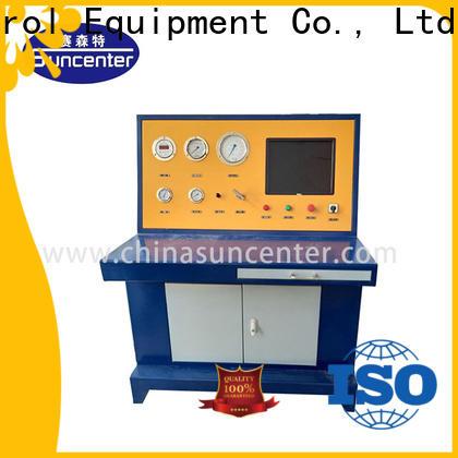 Suncenter machine hydrostatic testing marketing for mining