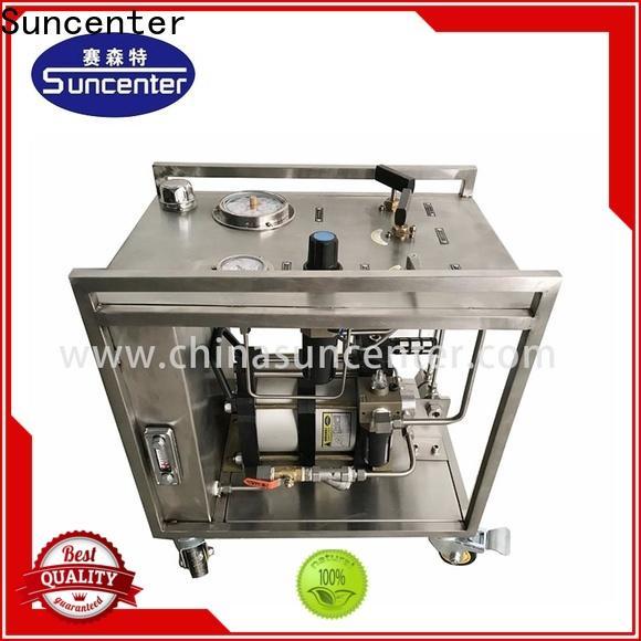 Suncenter pump haskel pump circuit for medical