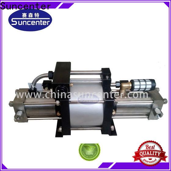Suncenter oxygen pressure booster pump type for safety valve calibration