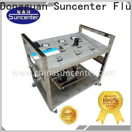 Suncenter stable liquid nitrogen pump equipment for pressurization