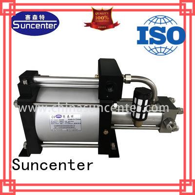 Suncenter safe pressure booster pump outlet for natural gas boosts pressure