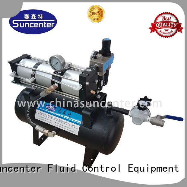 Suncenter air air booster pump certifications for safety valve calibration