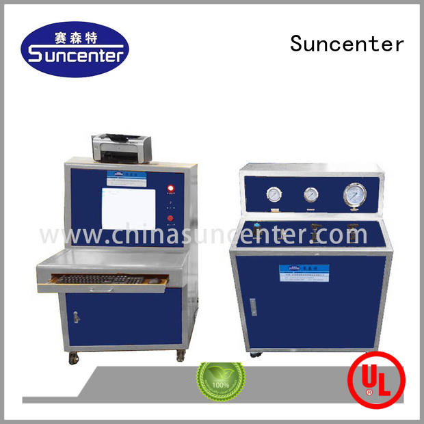 Suncenter long life pipe pressure test pump leakage for flat pressure strength test