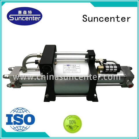 Suncenter portable haskel gas booster series for pressurization