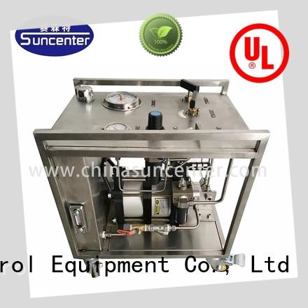 Suncenter competetive price pneumatic chemical injection pump development for medical
