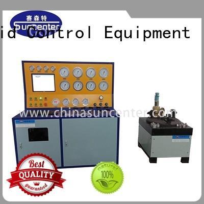 Safety valve test bench SVT40-DN400-CC computer control model
