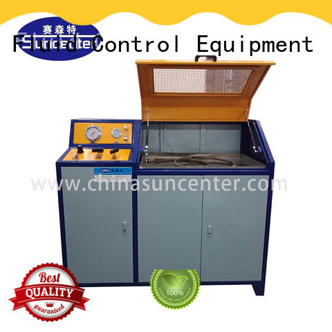 Suncenter competetive price water pressure tester for flat pressure strength test