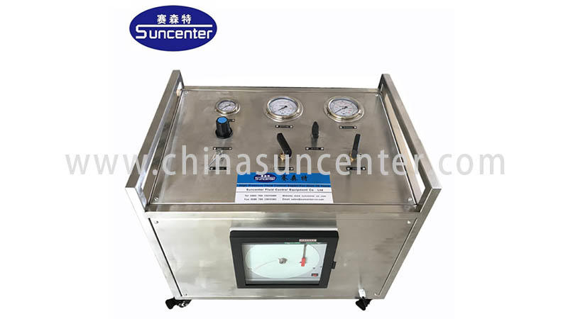 Suncenter safe gas booster compressor bulk production for safety valve calibration-3
