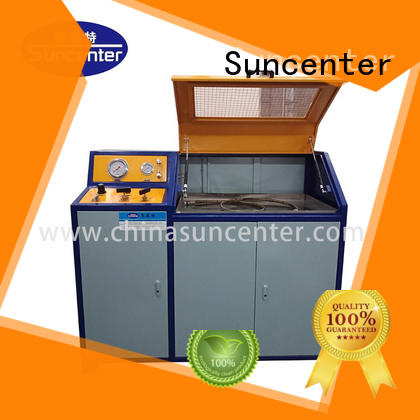 Suncenter competetive price hydraulic compression testing machine package for pressure test