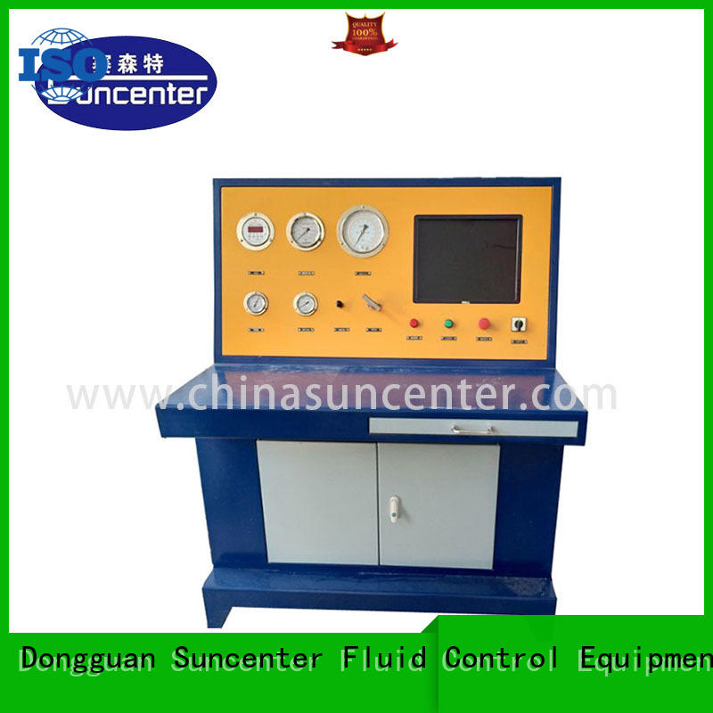 Suncenter test hydrostatic testing sensing for mining