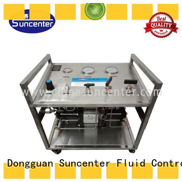 Suncenter system nitrogen pumps at discount for natural gas boosts pressure