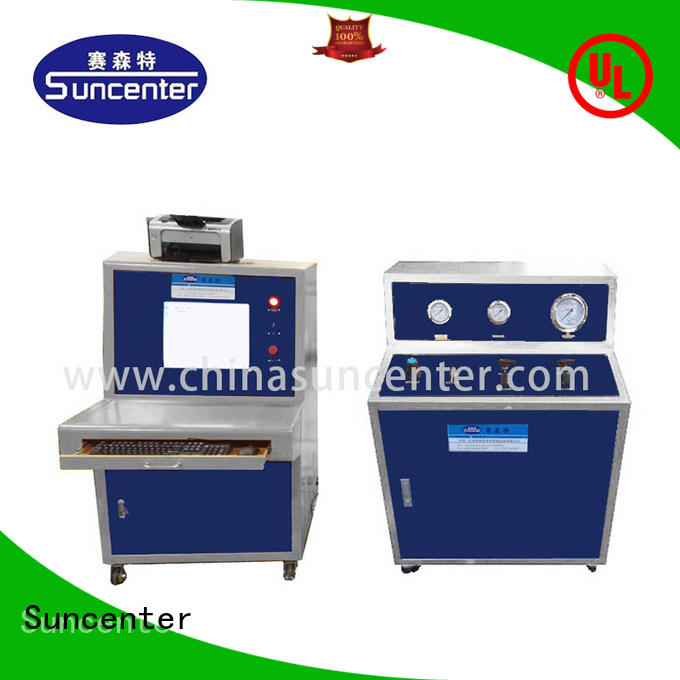 Suncenter long life water pressure tester solutions for pressure test