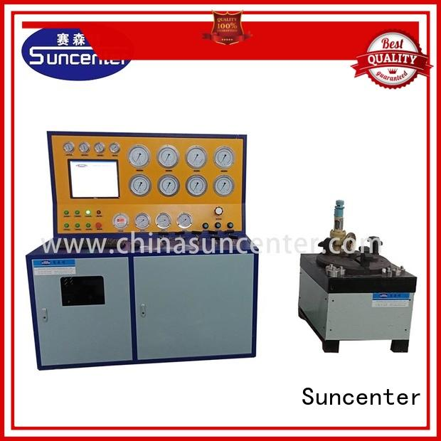 model valve test bench marketing for industry