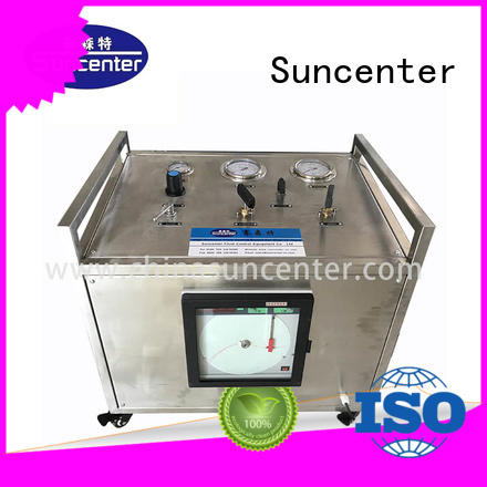 high quality pneumatic test bench type for safety valve calibration Suncenter