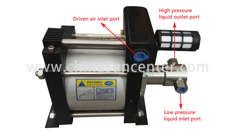 Suncenter-Professional Air Driven Liquid Pump Air Operated Hydraulic Pump-2