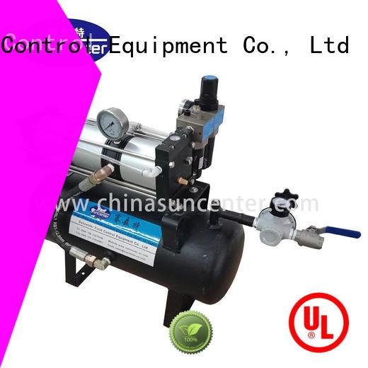 Suncenter professional air booster pump vendor for pressurization