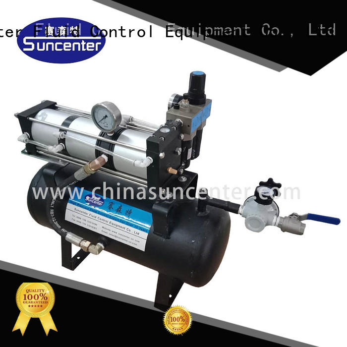 Suncenter easy to use electric air compressor pump on sale for safety valve calibration