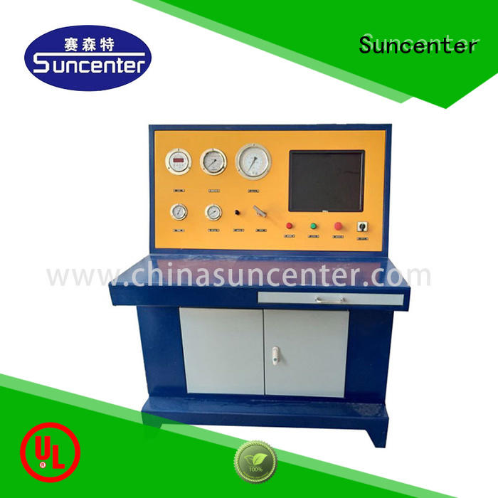 Suncenter stable hydrostatic test pump overseas market for machinery