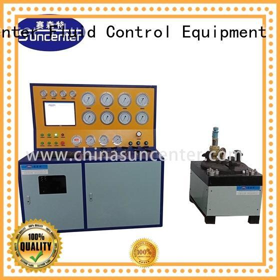 test hydrostatic pressure test Suncenter