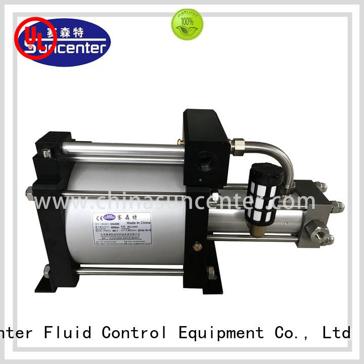 Suncenter booster gas booster for-sale for safety valve calibration