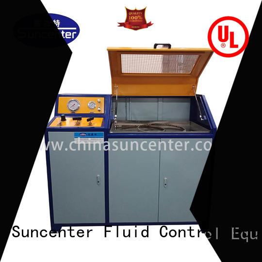 Digital control hydraulic pressure test bench