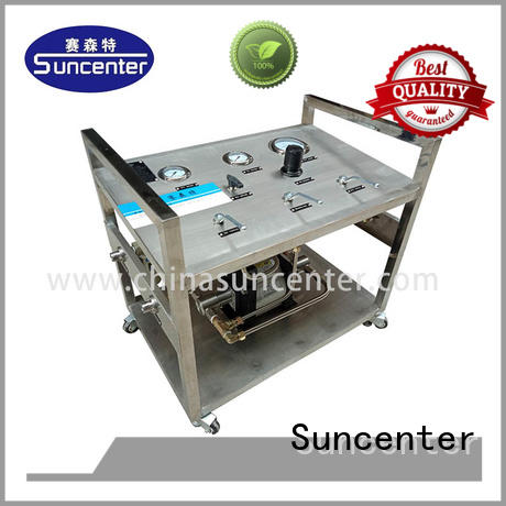 Suncenter high reputation booster pump price testing for safety valve calibration