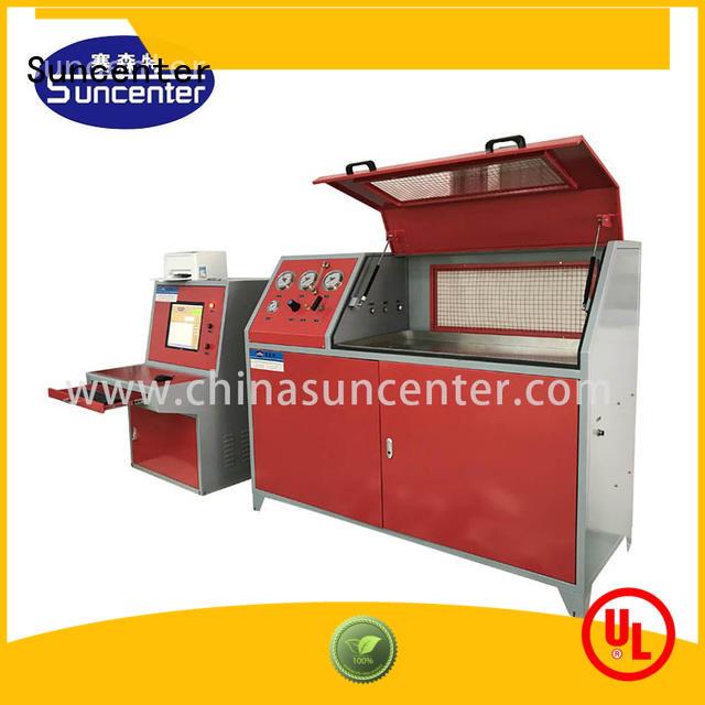 Suncenter leakage pressure test pump solutions for pressure test