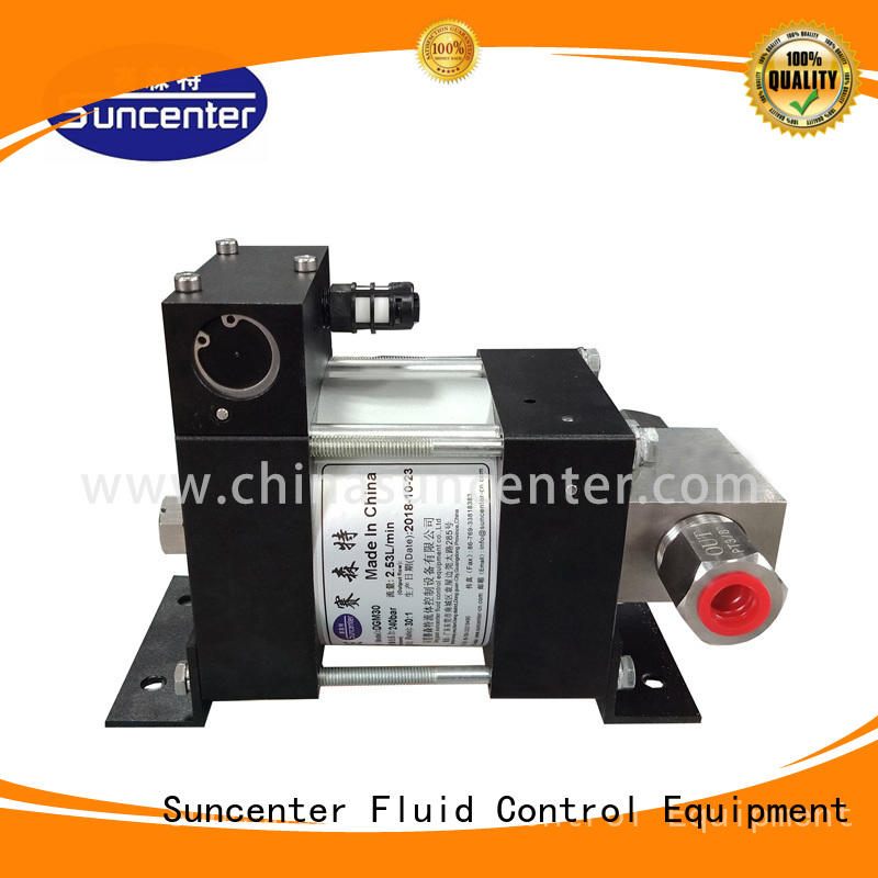 Suncenter durable air hydraulic pump manufacturer for petrochemical