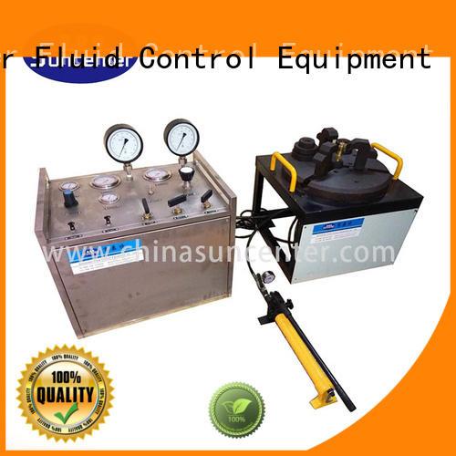 Suncenter waterproof gas pressure test type for industry