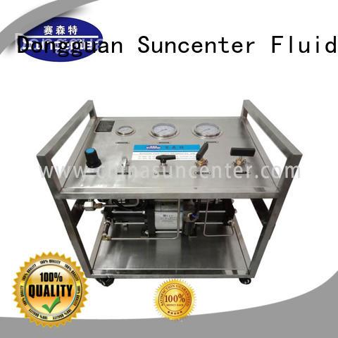 system pressure booster pump test for safety valve calibration Suncenter