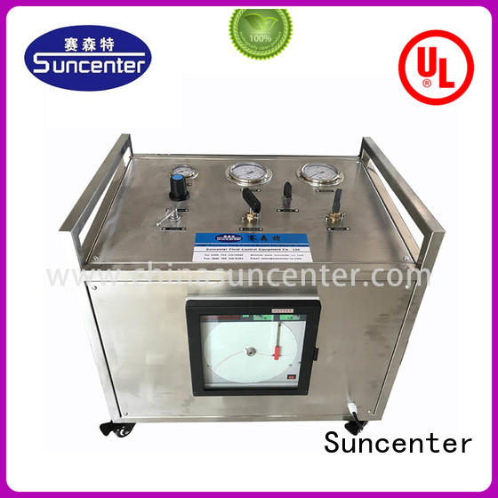 Suncenter safe gas booster compressor bulk production for safety valve calibration