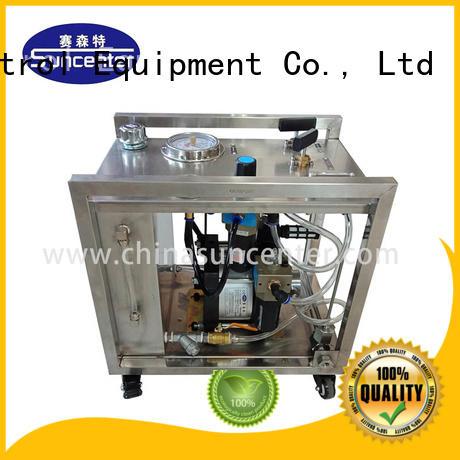 Suncenter high-quality hydrostatic test pump hydraulic for petrochemical