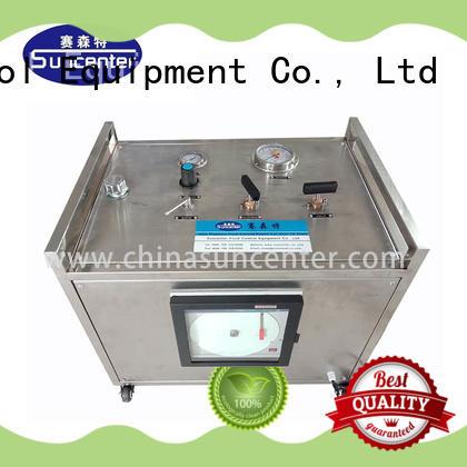 hydrostatic test pump round for metallurgy Suncenter