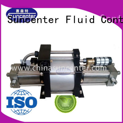 Suncenter easy to use pump booster for pressurization