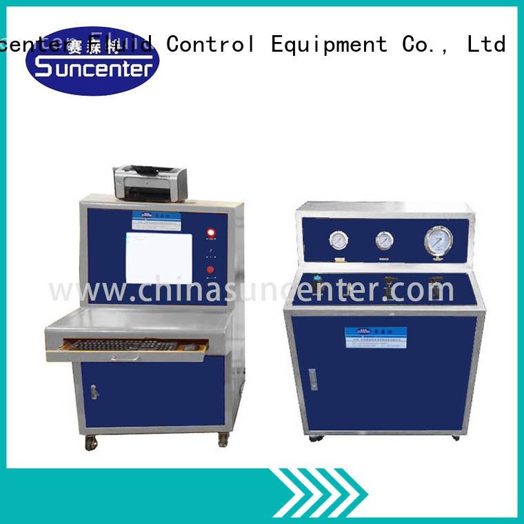 watch pressure test machine air hose test Suncenter Brand pressure testing equipment