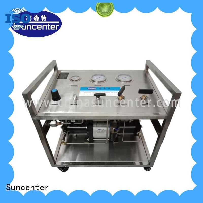 Suncenter safe nitrogen pumps factory price for safety valve calibration
