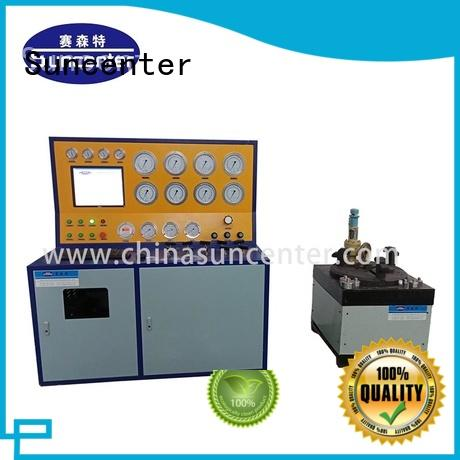 Suncenter scientific hydrostatic pressure test bulk production for industry