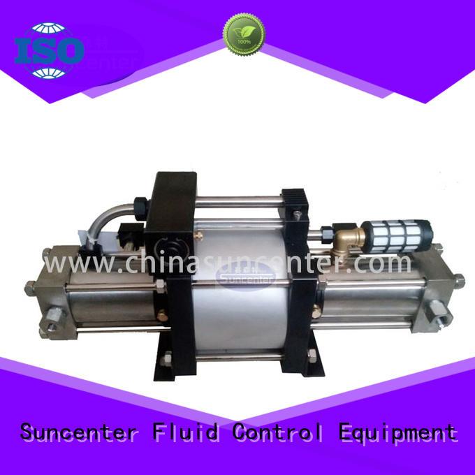 Suncenter series pressure booster pump bulk production for safety valve calibration