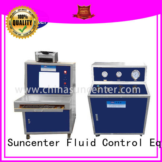 Suncenter hydrostatic hydrotest pressure for-sale for flat pressure strength test